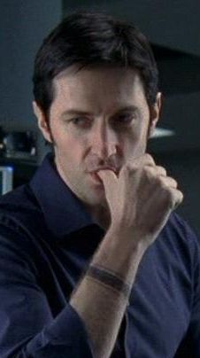 Richard Armitage as Lucas North in MI-5 (Now I have fixation for chocolate donuts.  Except I hate chocolate donuts. ~BSW)