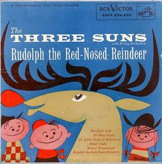 The Three Suns - Rudolph The Red-Nosed Reindeer