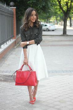 Bold Leather Bag - DivineCaroline.com