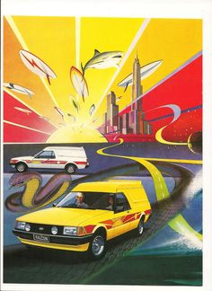 1979 Ford Sundowner Panel Van XD Falcon Escort Transit Page 1 Aussie Original Magazine Advertisement Australian Muscle Cars, Aussie Muscle Cars, Cool Vans, Old School Cars, Old Classic Cars, Ford Fairlane, Ford Falcon, Car Advertising, Custom Vans