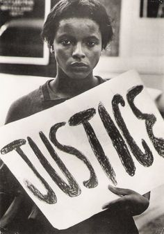 JUSTICE. That we still fight for people's rights, in 2012... But at least we keep fighting!