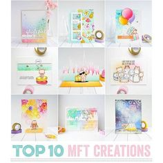Today I'm sharing my @mftstamps Top Ten creations of all time! These cards are truly my pride! I love all of them! Here are only 9 cards, the top one is on my blog! Thank you SO SO much for your support!! I love you all! #mftstamps #mft #cardmaking #top10cards #crafting #handmadecards #handmade #copic #watercolor