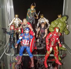 Avengers (MCU) - Prodigeek's Action Figure Collection