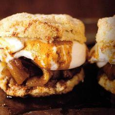 Caramel Apple Shortcakes