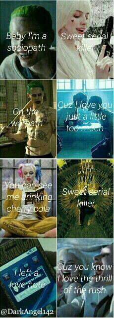 Lana Del Rey and my girl yyyyyyaaaaasssssss! Harley And Joker Love, Der Joker, Dc Comics, Joker Quotes, Madly In Love, Gotham City, My Idol, Nerd, Marvel