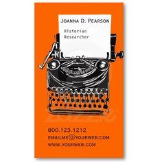 Technical Writer - Modern Black White Business Card Templates ...