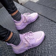 Who says sneakers can't have style? From joggers to slip ons to platforms, we've got trending shoes that are sporty and sweet. Sneakers Fashion, Sneakers Nike, Platform Shoes, Women's Shoes, High Tops, Joggers, Slip On, Sporty, Shoes Women
