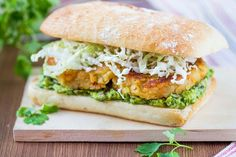 Vegetarian Recipe: Lentil Burgers with Guacamole