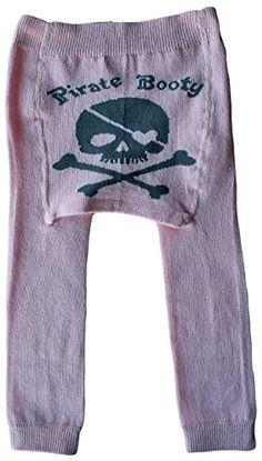 8c4fdd5f7bc Silly Souls SkullCross Bones Cool Cotton Baby Girl Leggings Pink 012 Months  -- More info