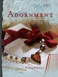 MARCH 23: Today we're celebrating with a FREE excerpt from Kristen Robinson's, Tales of Adornment. Begin your love affair with resin with this simple and beautiful project. Learn the basics of using resin and follow the steps to create the lovely Charming My Soul Bracelet.—Bethany