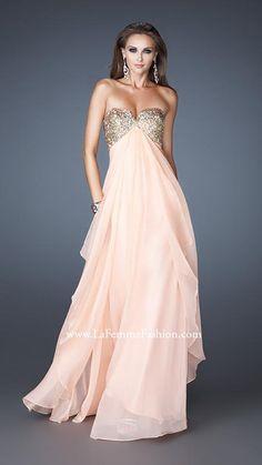 La Femme 18774 | La Femme Fashion 2013 - La Femme Prom Dresses - Dancing with the Stars