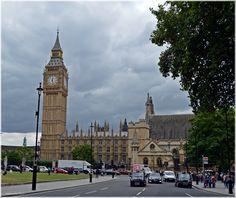 Big Ben y Parlamento  Londres  http://www.viajesenfamilia.it/