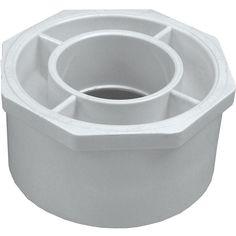 "Genova Products 30242 4"" X 2"" PVC Reducing Bushing"