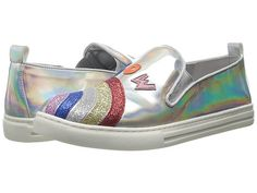 Stella McCartney Kids Leo Metallic Rainbow Slip-On Sneaker (Big Kids)