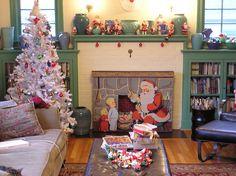fun vintage Christmas decor