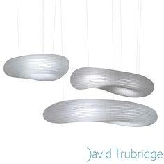 David Trubridge: Cloud Pendant Light