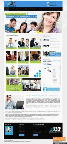 Esep. Escuela Superior de Estudios Profesionales. Desarrollo web para Estudio Tall.
