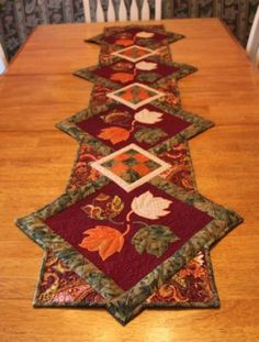 Quilted Delights: Finished Fall