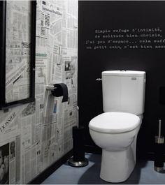 34 meilleures images du tableau d corer ses toilettes avec go t d coration toilettes salle de. Black Bedroom Furniture Sets. Home Design Ideas