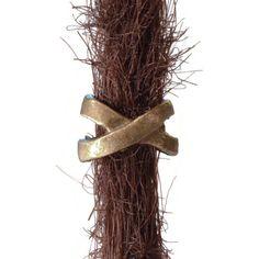 Bronze Ribbon Dreadlocks Bead