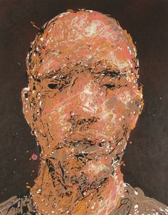 Craig Paul Nowak abstract drip portrait blend in stand out brown Drip Painting, Abstract Portrait, Jackson Pollock, Pictures To Paint, Paintings, Canvas, Brown, Artist, Tela
