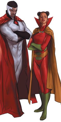 Bloodwynd & Sister Miracle #Earth16 #DC #Multiversity