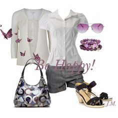 Outfit.... yeah! I actually have this purse... there may be hope for me after all!
