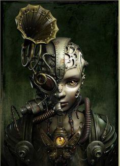 Жанна Д (Jeanne D). «Механический мираж».  Автор работ: Казухико Накамура (Kazuhiko Nakamura).