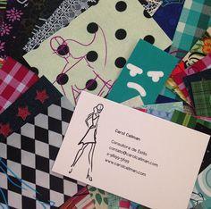 A Carol Caliman é consultora de estilo e escolheu a nossa Coleção de Moda para estampar seus Cartões Pessoais.
