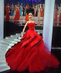 Miss San Antonio Barbie Doll 2011 Barbie Gowns, Pageant Dresses, Barbie Clothes, Zac Posen, Miss Pageant, Barbie Miss, Fashion Dolls, Fashion Outfits, Poppy Parker