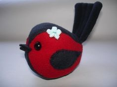 Sewing Pattern for Muffin the little birdie plush  by KikiKreation