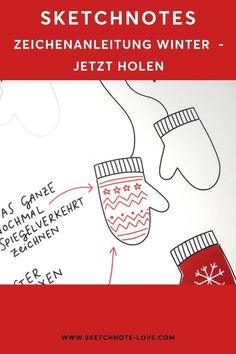 Jeder kann malen; Sketchnotes sind einfache kleine Zeichnungen, ähnlich wie du als Kind gezeichnet hast. Wie wäre es beispielsweise mit dem Zeichnen von Handschuhen und zwar in der einfachen Variante – den Fäustlingen? Ich zeige dir in einer einfachen Anleitung wie es geht. Sketchnotes Weihnachten | Sketchnotes Weihnachtsmann | Weihnachten Dekoration | Weihnachtsbasteln | Weihnachten | Weihnachtsdeko | Weihnachtskarten | Weihnachtsgeschenke | Geschenkanhänger #NadineRoßa #sketchnotes-love Sketch Notes, Simple Doodles, Drawings, Children Drawing, Visual Note Taking, Small Drawings, Doodles, Santa Clause, Figurines