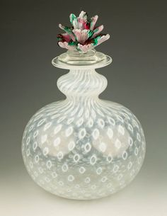 Signed Bertil Vallien for Kosta Boda Opalescent Controlled Bubble Decanter, Scandinavian Bullicante Art Glass Bottle Vase, Flower Stopper by TableauxArts on Etsy https://www.etsy.com/au/listing/219027013/signed-bertil-vallien-for-kosta-boda