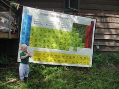 periodic table of the elements QUILT!!!!!!!!!! LOVE IT!
