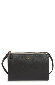 New MCM Milla Double Leather Crossbody Bag fashion online. [$530]?@shop.seehandbags<<