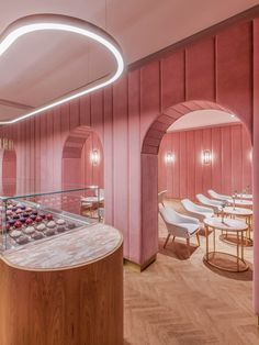 Nanan Patisserie in Wroclaw, Poland by BUCK.STUDIO | est living