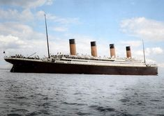 Colorized Photo Of The Titanic