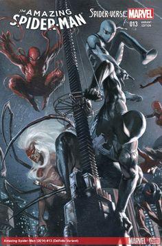AMAZING SPIDER-MAN (2014) #13 (DELL'OTTO VARIANT)