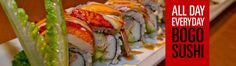 Sushi Nine on Western Boulevard -- completely addicted Raleigh Restaurants, Durham, Places To Eat, Sushi, Awesome, Ethnic Recipes, Food, Essen, Yemek