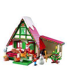 Loving this Santa's Home Set on #zulily! #zulilyfinds
