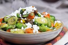 Sweet Potatoes and Brussel Sprouts Skillet Hash