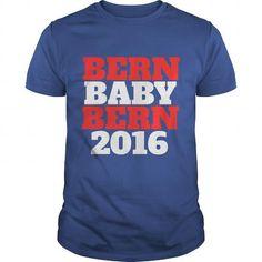 Awesome Tee Bern Baby Bern Bernie Sanders 2016 Best Funny TShirt Shirts & Tees