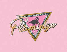 "@Behance portfolio: ""Flamingo"" http://on.be.net/1MAY8J4 #brand #branding #logo…"