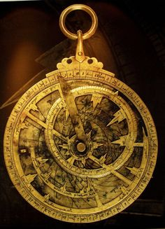 astrolabe, used for science! Could have fooled me! How does this not look magic.