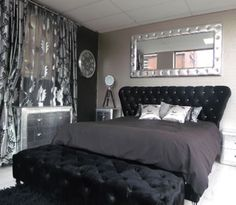 Ideas for Bella, i like the mirror , were doing a Glamorous Bedroom!