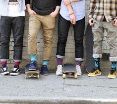 HUF x Brick Harbor Exclusive Plantlife Sock Colorways