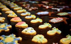 Shortbread and gingerbread cookies