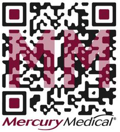 Customized QR Code for Mercury Medical