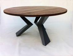 Modern Yuvarlak Kuş Ayaklı Yemek Masası
