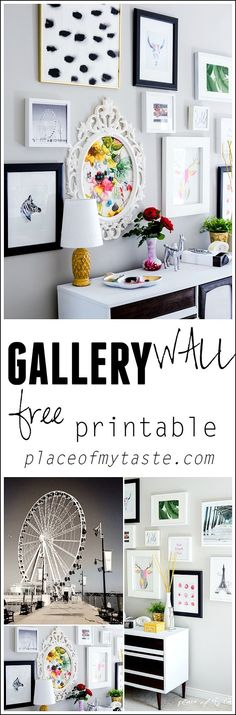 GALLERY WALL - Place Of My Taste